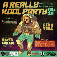 7/25 - Sat -  A Really Kool Party - The Official Sneaker Summit Pre-Party