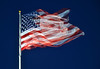 U.S. Flag in the Wind by dr_marvel