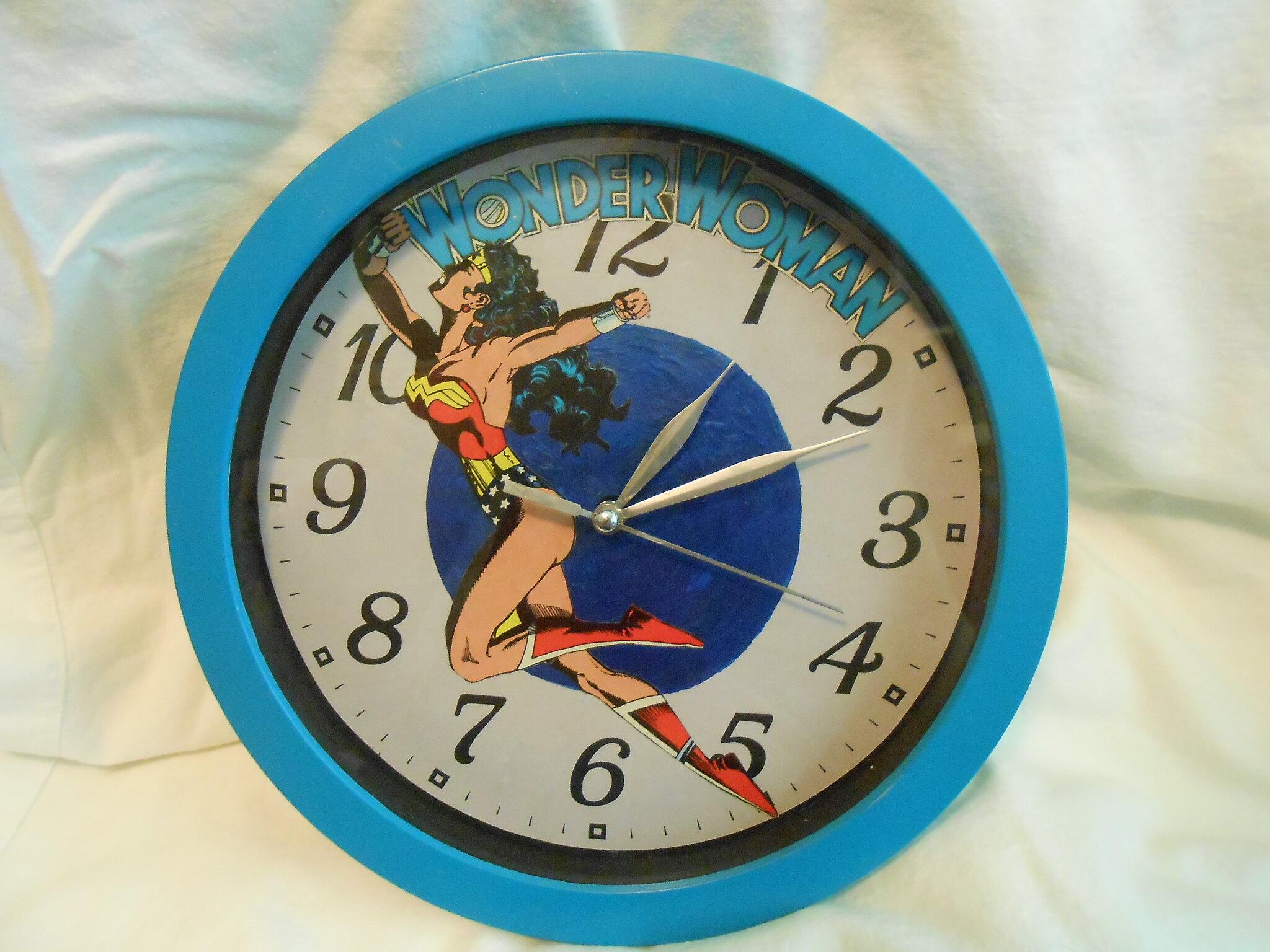 Two Comic Book Clocks Home Sweet Home