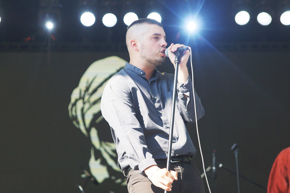 Young Fathers @ Central Park, NYC 25/07/15