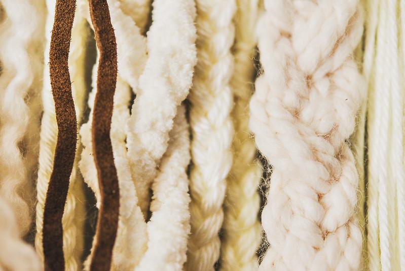 diy yarn wall hanging #Feelinvigorated
