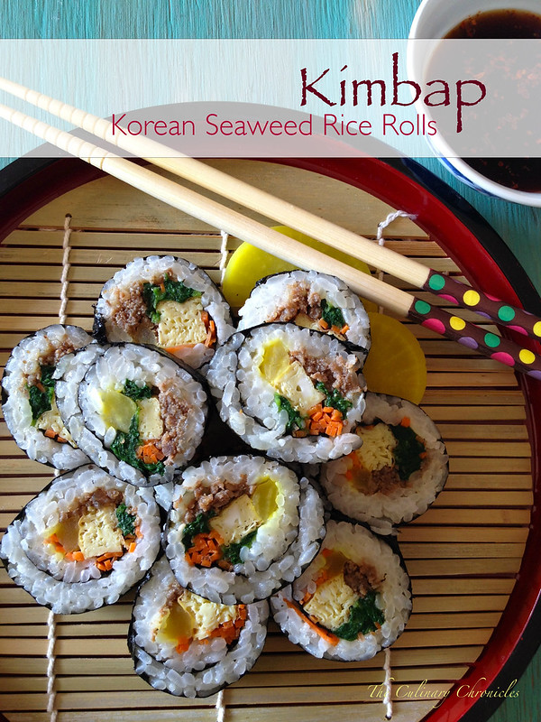 Kimbap – Korean Seaweed Rice Rolls