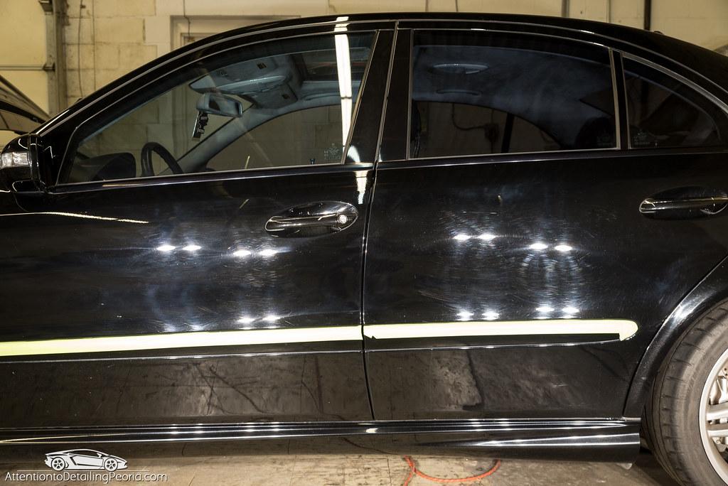 Mercedes-Benz E55 AMG: Paint Correction & GTechniq Crystal Serum