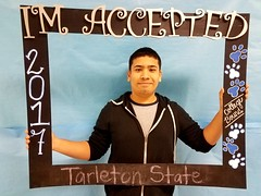 Congratulations to Frank Rodriguez who got accepted to Tarleton State University in Stephenville, Texas! #CollegeBound #CollegeBoundBulldogs #Somerset2017
