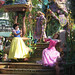 Snow White, Rapunzel, and Aurora in Soundsational by perlster