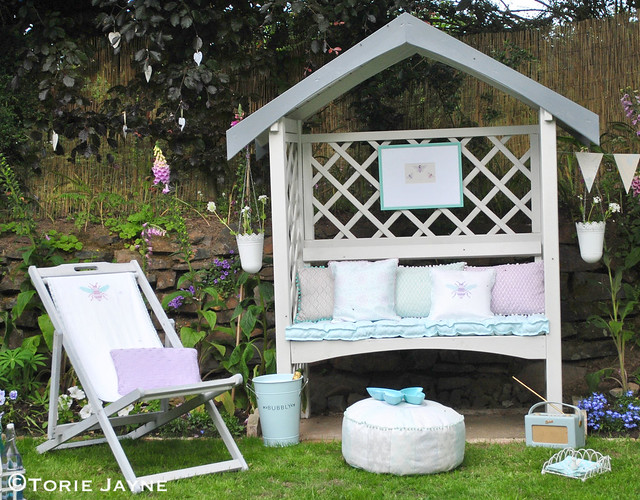 Amazing My Pretty Garden Arbour Bench Torie Jayne Pdpeps Interior Chair Design Pdpepsorg