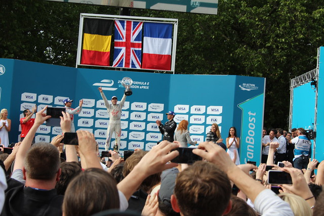 Formula E at Battersea