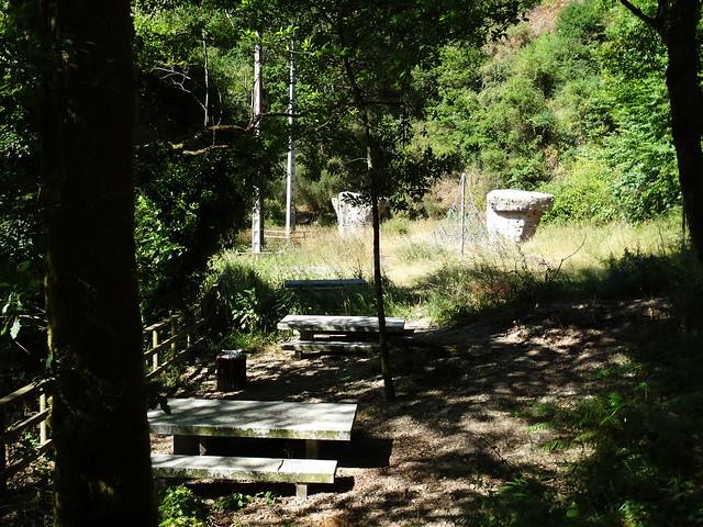 Área recreativa de As Pías en Irixoa