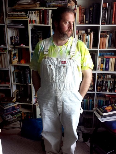 Bleached overalls!