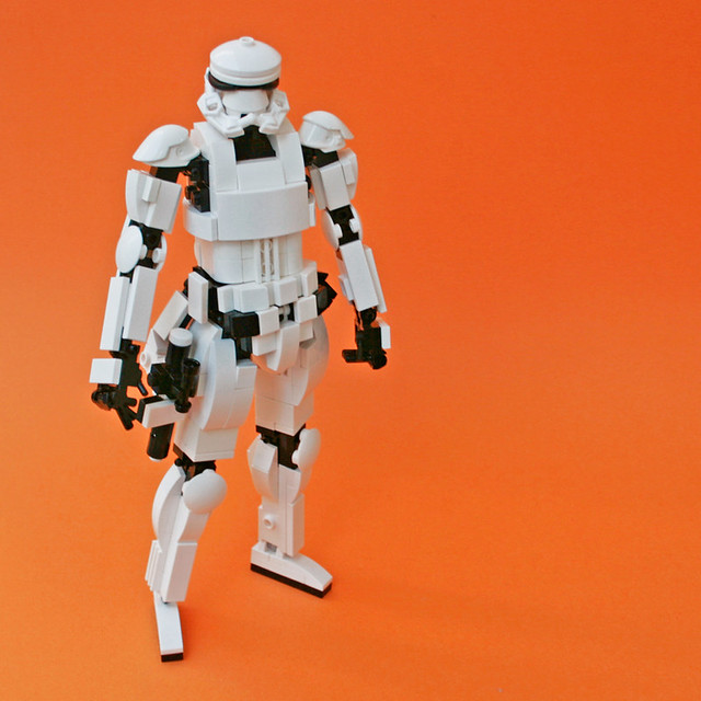 LEGO: Stormtrooper of episode 7 (8inch)