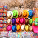 Colorful hats at Cartagena, Colombia by die Augen