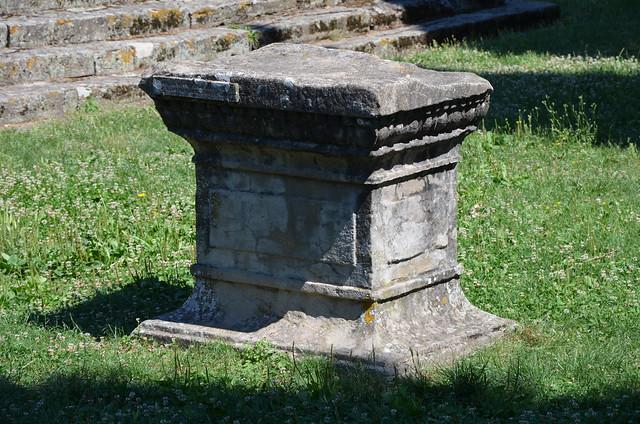 Etrusco-Roman temple, Roman Faesulae, Fiesole, Italy