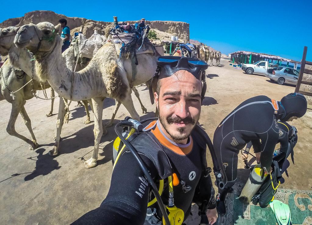 Scuba Dive Red Sea Dahab Egypt