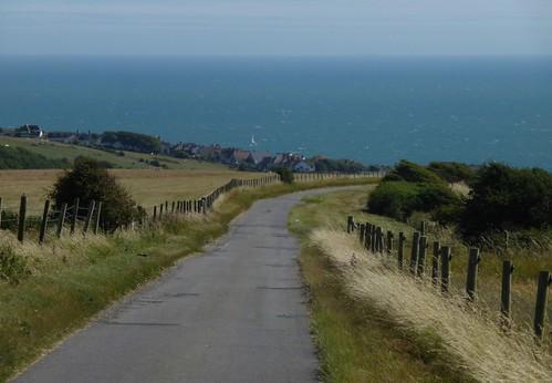 Approaching Rottingdean