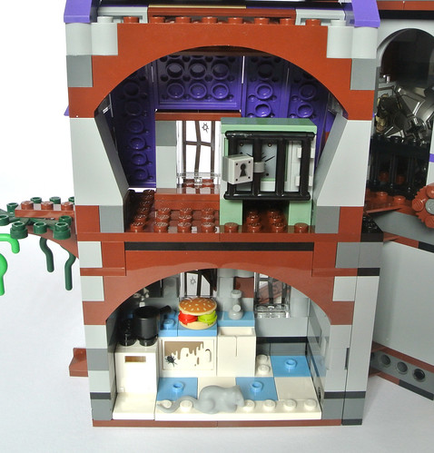 Cabinets for kitchen green kitchen cabinets pictures - Review 75904 Mystery Mansion Brickset Lego Set Guide