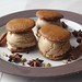 Spicy ginger cookie and chai tea latte ice cream sandwiches by honey drizzle