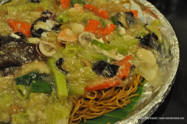 Seafood Pancit Canton Rosenda's Restaurant
