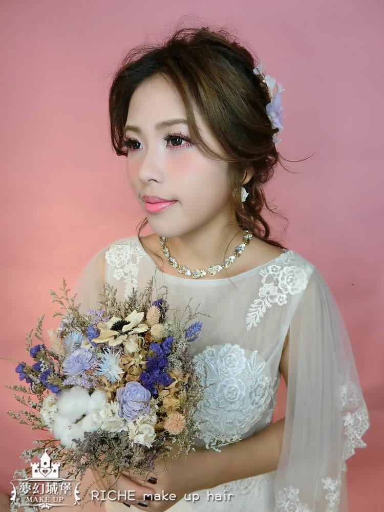 【新秘RICHE】新娘造型創作 / 清新仙女造型