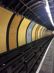 Jubilee line platform at Charing Cross station