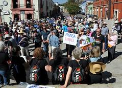 Women's March Oaxaca Mexico
