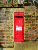 Victorian Letter Box In Riverside, Twickenham - London.