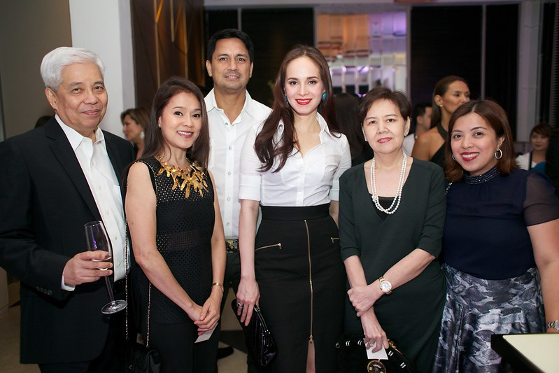 Mr. Lim, Rhoda Aldanese, Richard Gomez, Lucy Torres Gomez, Mrs. Lim, Pia Campos