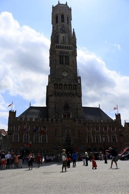 Il municipio di Bruges