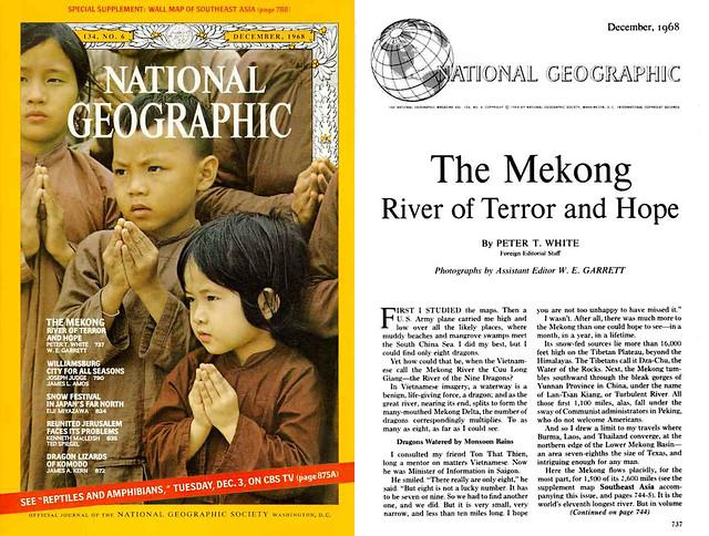 National Geographic Dec 1968 (1) - Mekong, dòng sông của nỗi kinh hoàng và niềm hy vọng