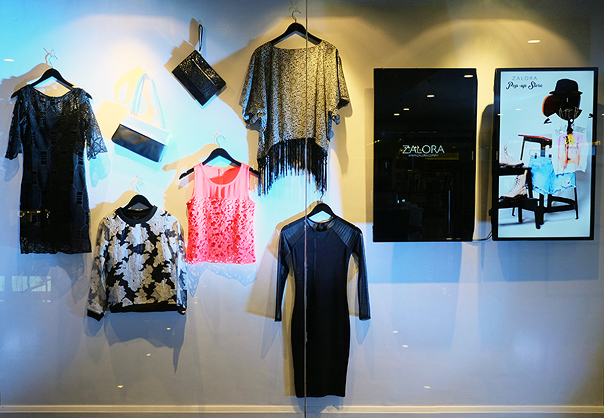 Trice Nagusara Zalora Pop-up Store