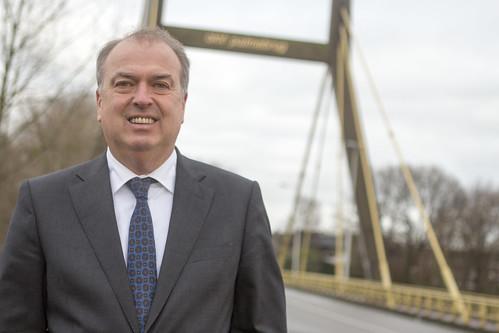 Oud burgemeester Peter van der Velden