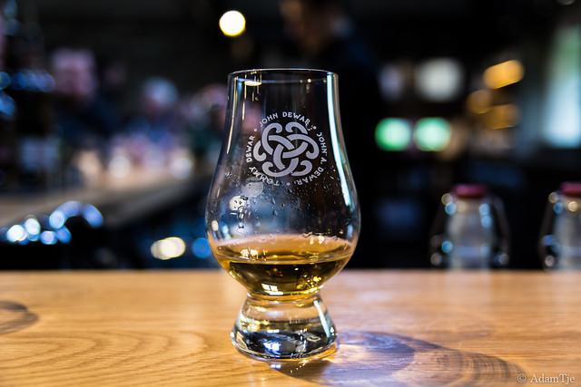 Dewar's Aberfeldy Distillery, Scotland