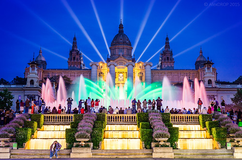 _MG_3516_web - Singing fountains show in Barcelona