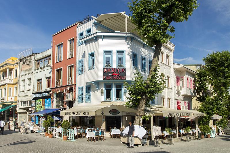 Sultanahmet architecture - Istanbul, Turkey