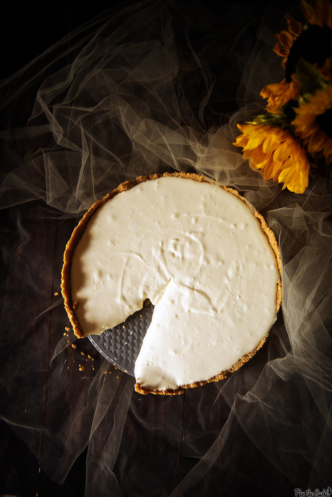 No Bake Cheesecake \\ PasstheSushi.com