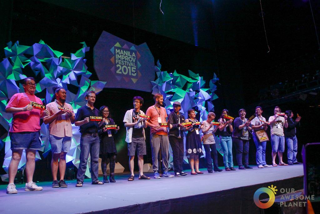 "MANILA IMPROV International Festival 2015: ""Finding the Game"" (Photo Essay) @PetaTheater"