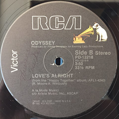 ODYSSEY:INSIDE OUT(LABEL SIDE-B)