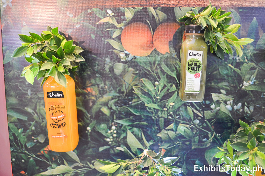 Charlie's Old Fashioned Thirst Quenchers Orange Mango and Spirulina Flavors