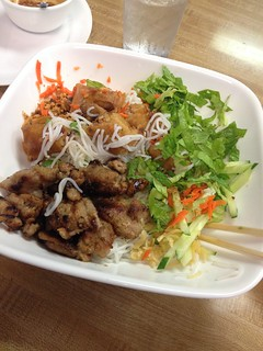 Beef and Spring Roll Vermicelli.