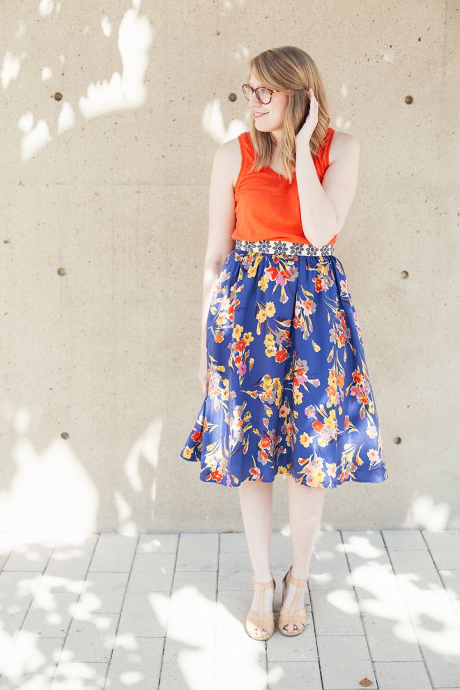 anthropologie skirt old navy clogs5
