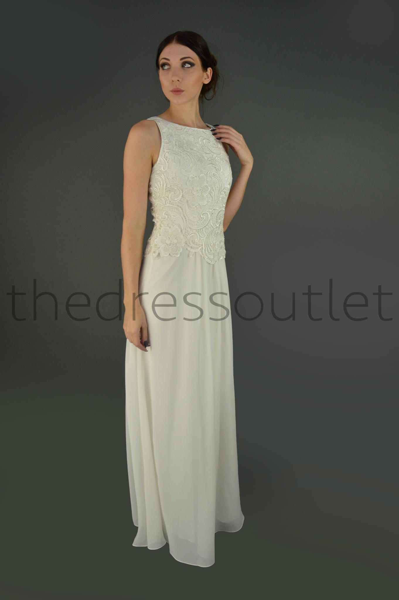 Plus Size Floor Length Chiffon Formal Dress Sleeveless
