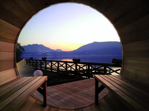 Cosmic avec vue sur lac