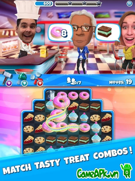Crazy Kitchen v3.1.0 hack full cho Android