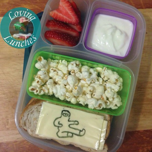 Loving the end of the week… seriously, is it wine o'clock yet? #schoollunch #easylunchboxes #easylunchbox @easylunchboxes