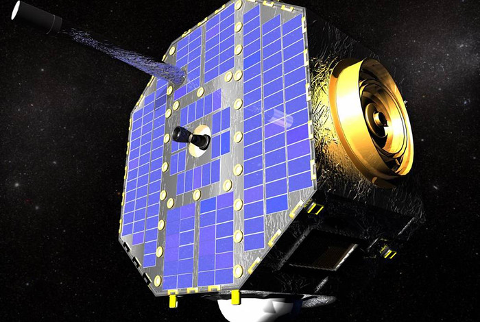 IBEX spacecraft. Photo courtesy of NASA