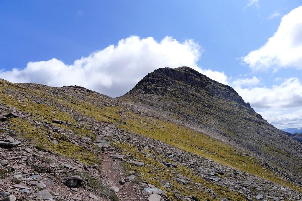 Path to the summit of Sgor Ruadh