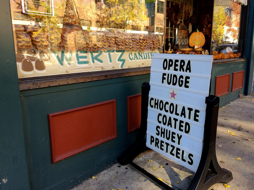 Wertz Candies Lebanon PA - Opera Fudge - Retro Roadmap