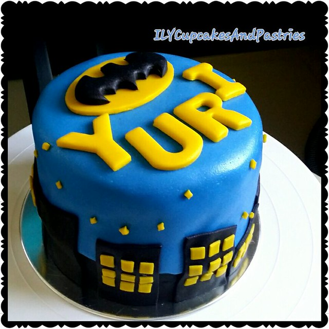 Batman in the City by Lovelle Maula-Val of ILY cupcakes and pastries