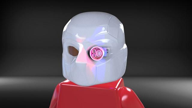 CyclopsBricks Deadshot Helmet