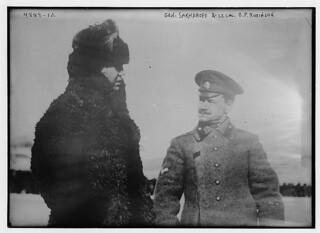 Gen. Sakharoff & Lt. Col. O.P. Robinson (LOC)