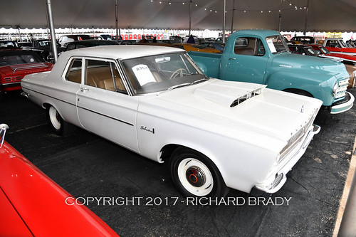 Here is a 1965 Plymouth Belvedere complete with hemi brought in $50,000